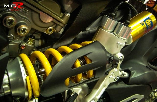 2013 Ducati 1199 Panigale S rear suspension system