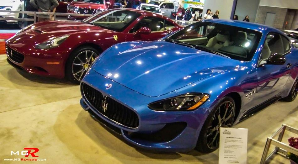 2013 Ferrari and Maserati