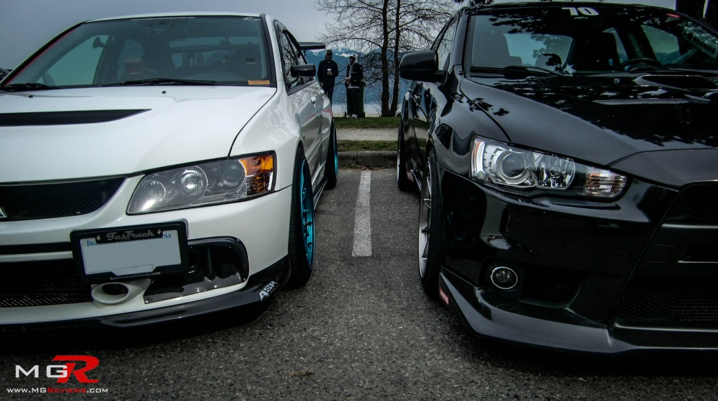 Mitsubishi Lancer Evolution IX and X