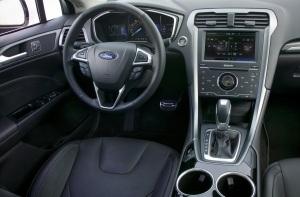 2013 Ford Fusion interior