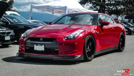 Nissan R35 GTR Red