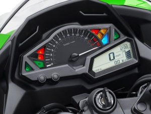 Kawasaki Ninja 300 instrument cluster