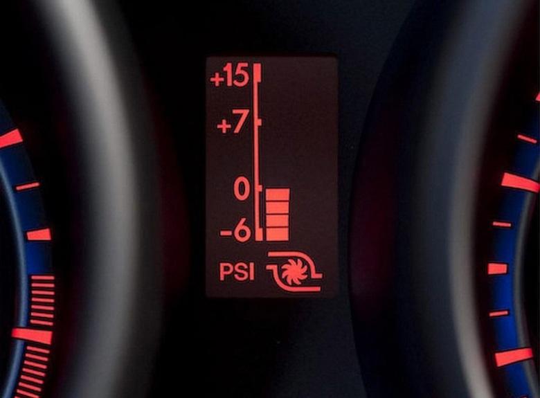 Mazdaspeed3 Interior boost gauge