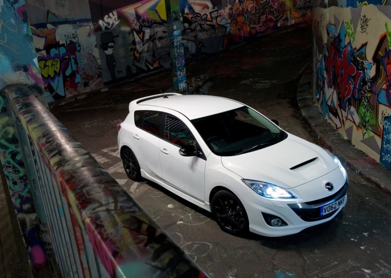 Mazdaspeed3 white 01