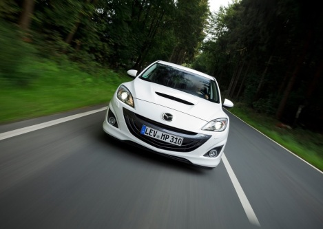 Mazdaspeed3 white 03