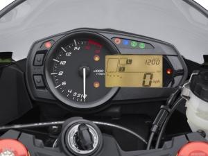 2013 Kawasaki Ninja ZX6R 636 instrument cluster