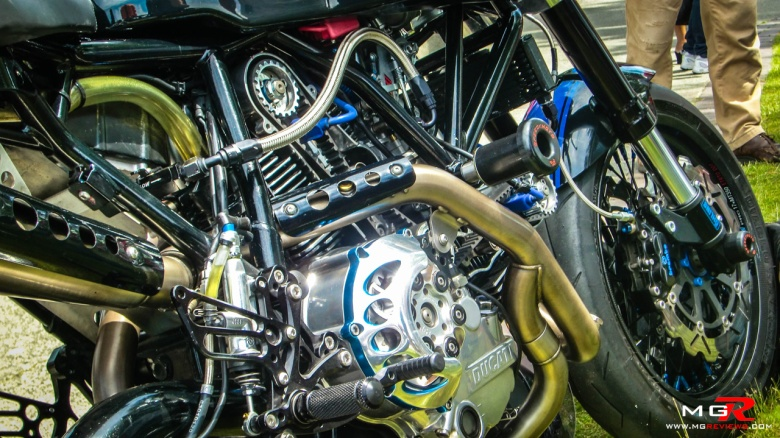 Ducati Streetfighter engine