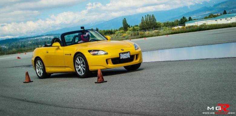 Honda S2000 Yellow