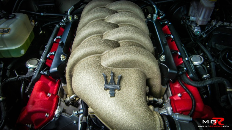 Maserati Cabriolet engine
