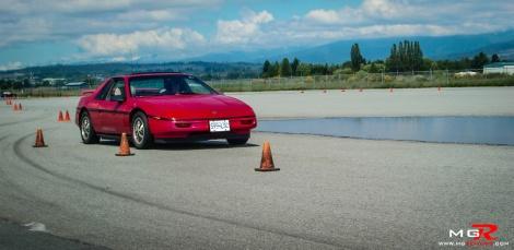 Pontiac Fiero Front