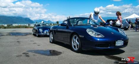 Porsche Boxster Blue
