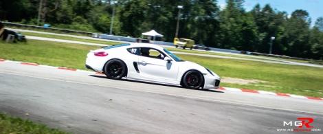 Porsche Cayman White 2