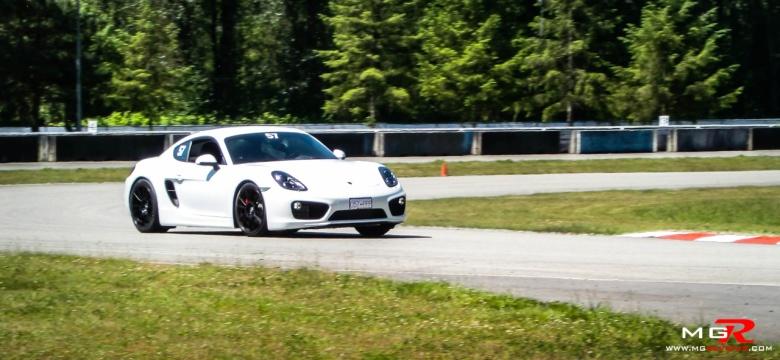 Porsche Cayman White 4