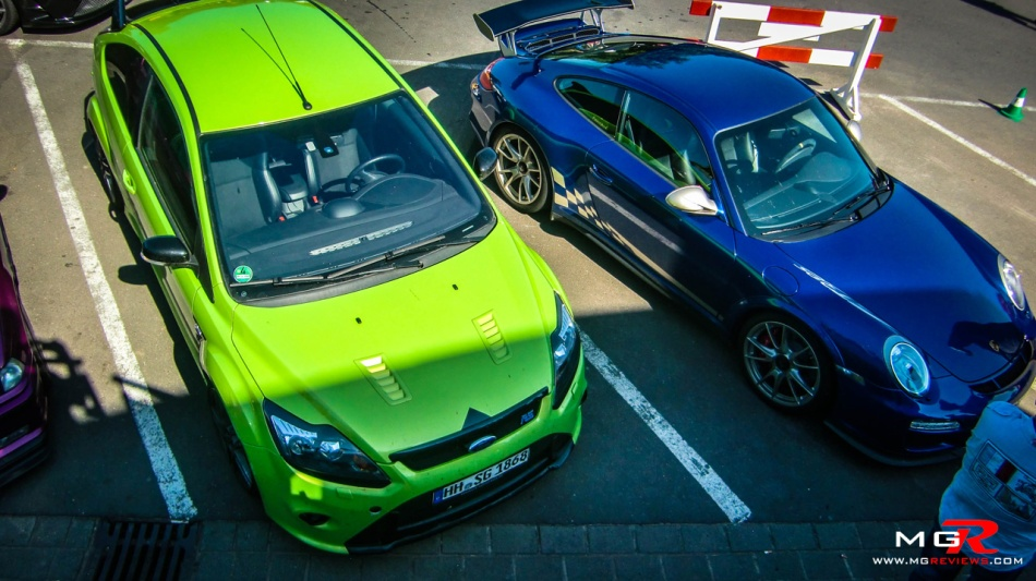 Ford Focus RS Porsche 911 GT3 RS