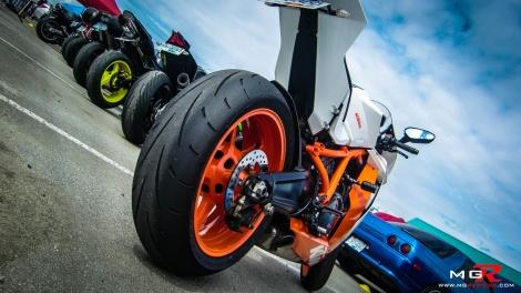 KTM RC8 rear