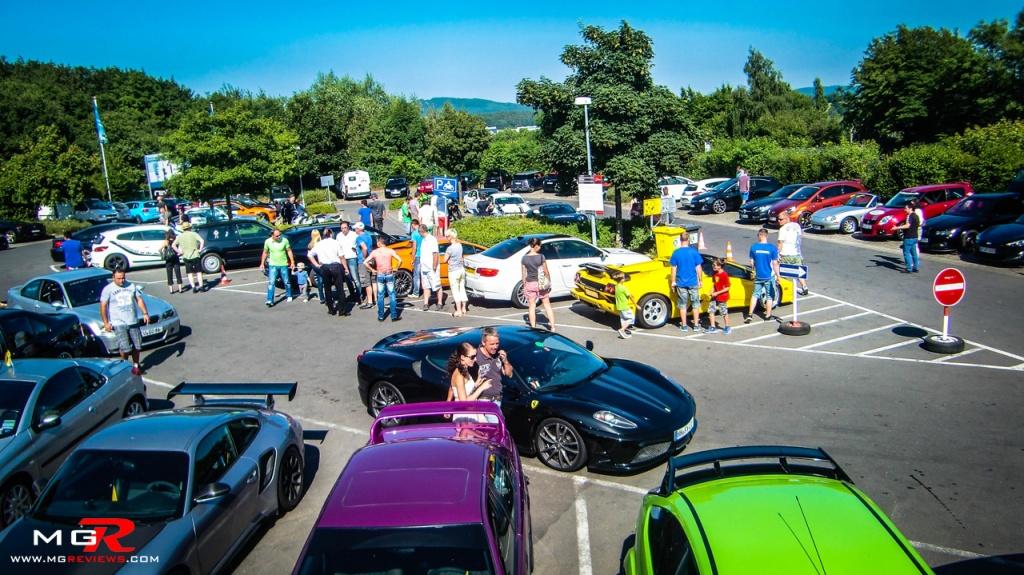 Nurburgring Parking lot