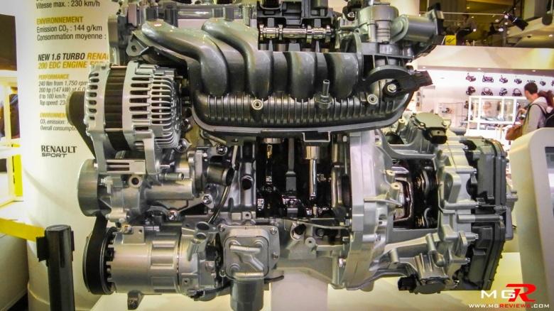 Renault Sport 1.6L EDC Turbo Engine 02