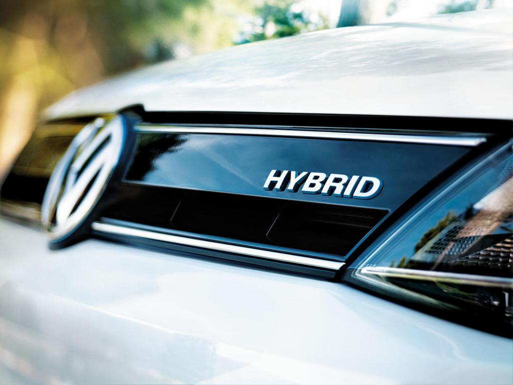 2014 Volkswagen Jetta Hybrid grille