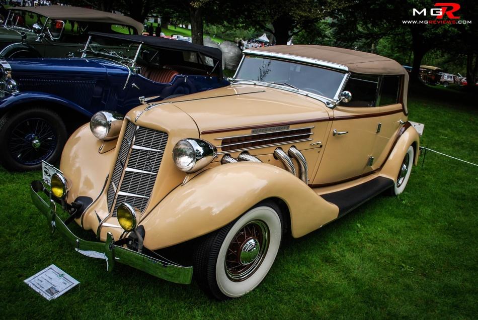 Auburn 852 Convertible Sedan