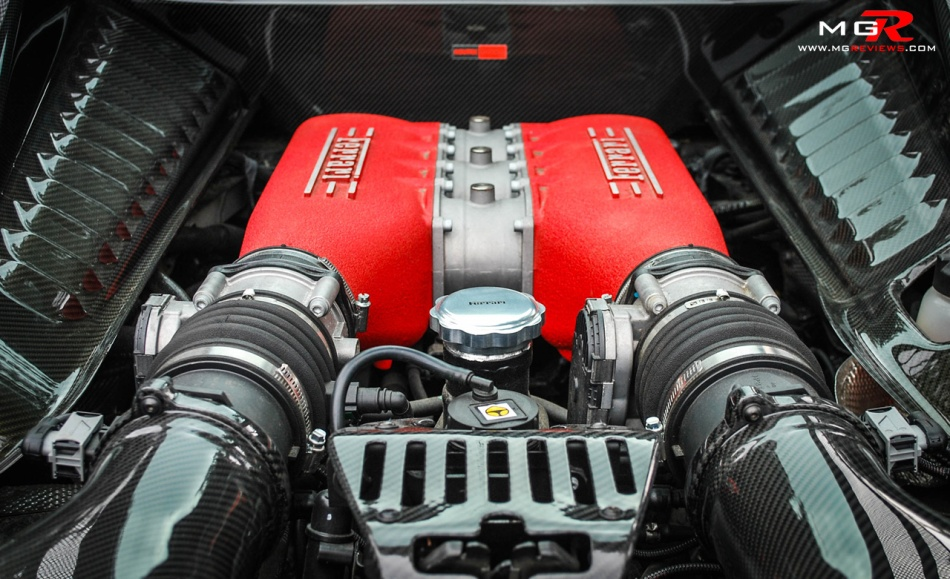 Ferrari 458 Reiko engine