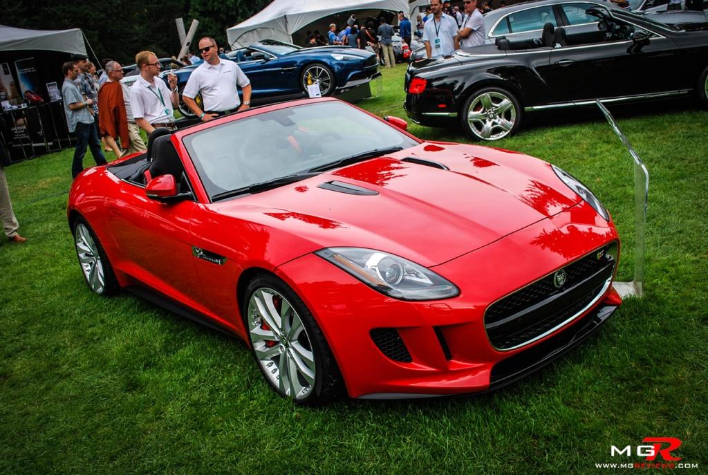 Jaguar F-type red 01