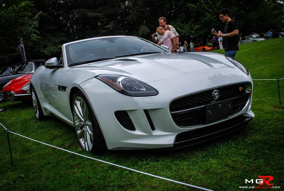 Jaguar F-type white front