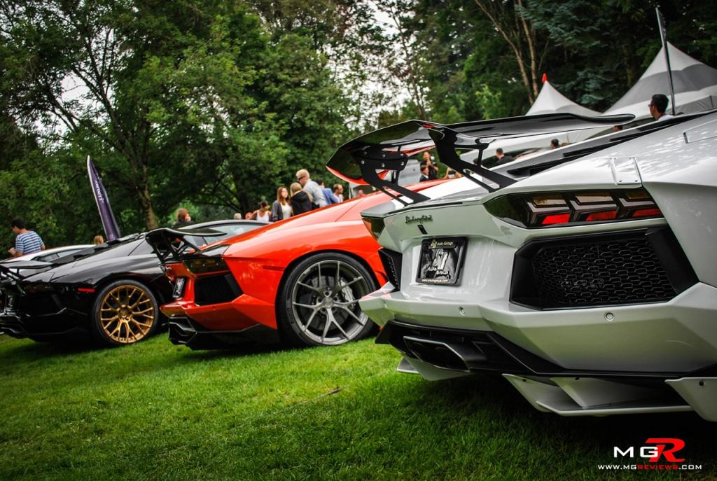 Lamborghini Aventador group rear