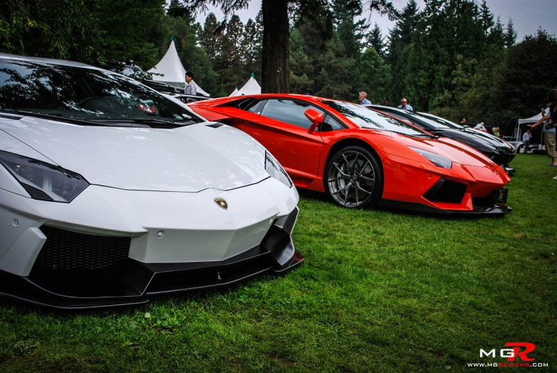 Lamborghini Aventador group