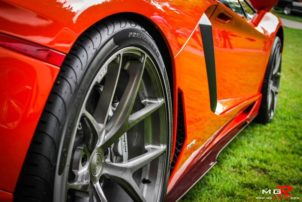 Lamborghini Aventador wheel