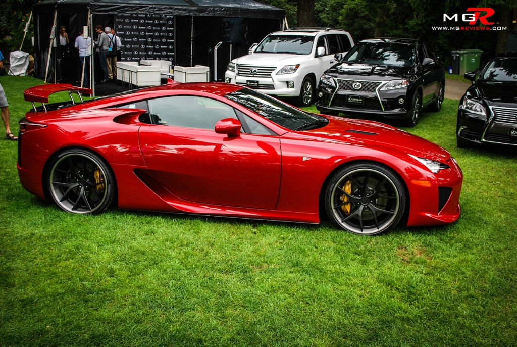 Lexus LFA Red 01