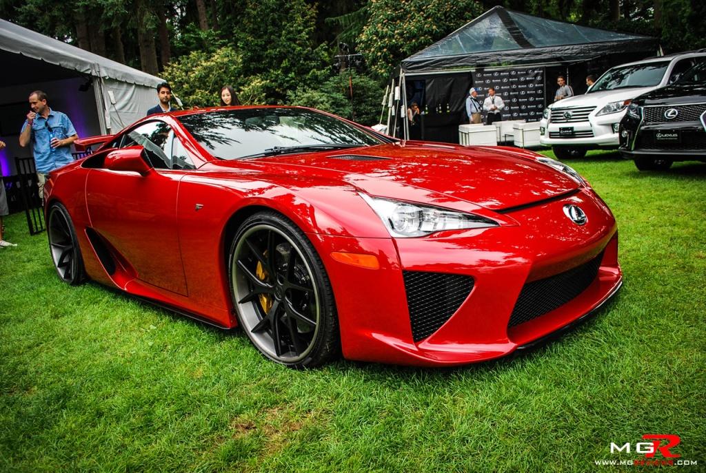 Lexus LFA Red 05