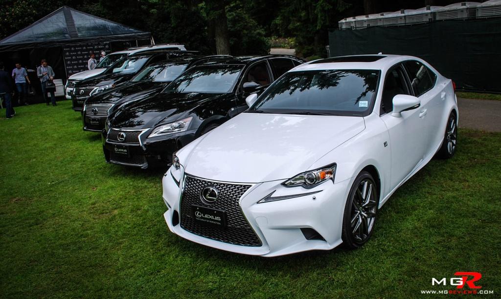 Lexus tent