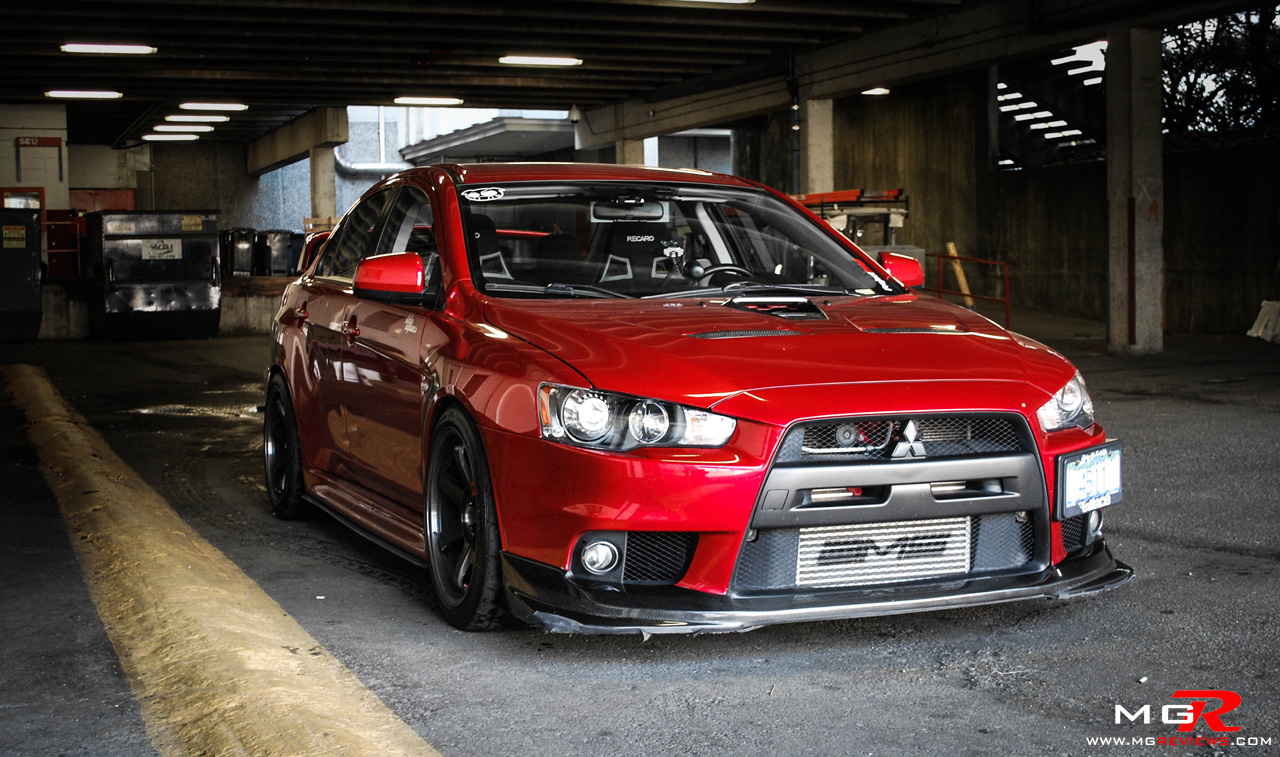 review 2010 mitsubishi lancer evolution x gsr modified m g reviews. Black Bedroom Furniture Sets. Home Design Ideas