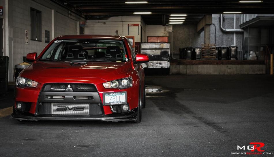 Mitsubishi Lancer Evolution X 08-2