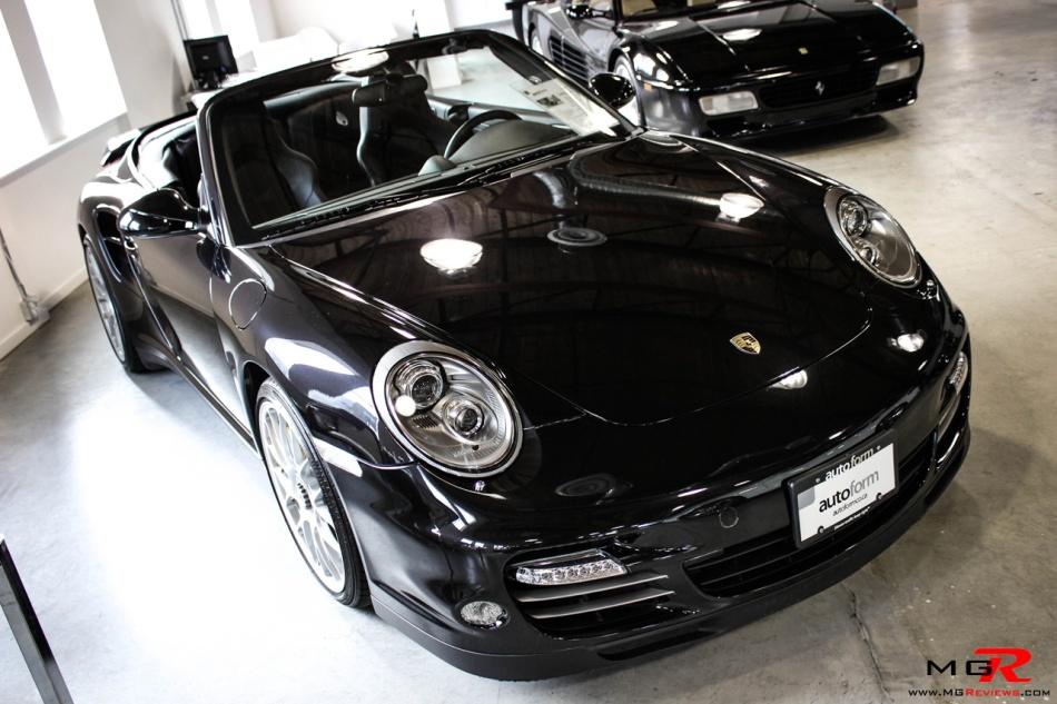 Porsche 911 Turbo S Cabriolet 09