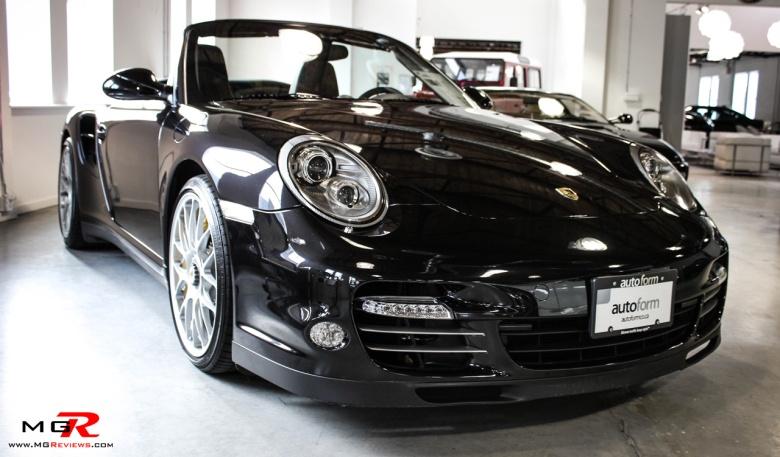Porsche 911 Turbo S Cabriolet 10