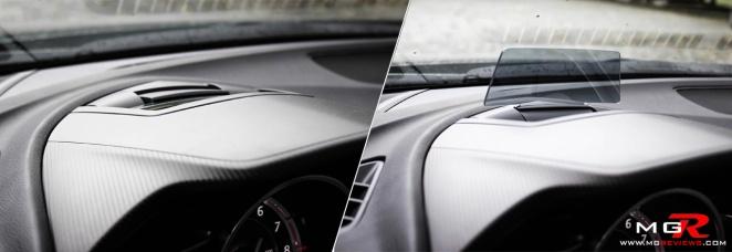 2014 Mazda3 Interior HUD