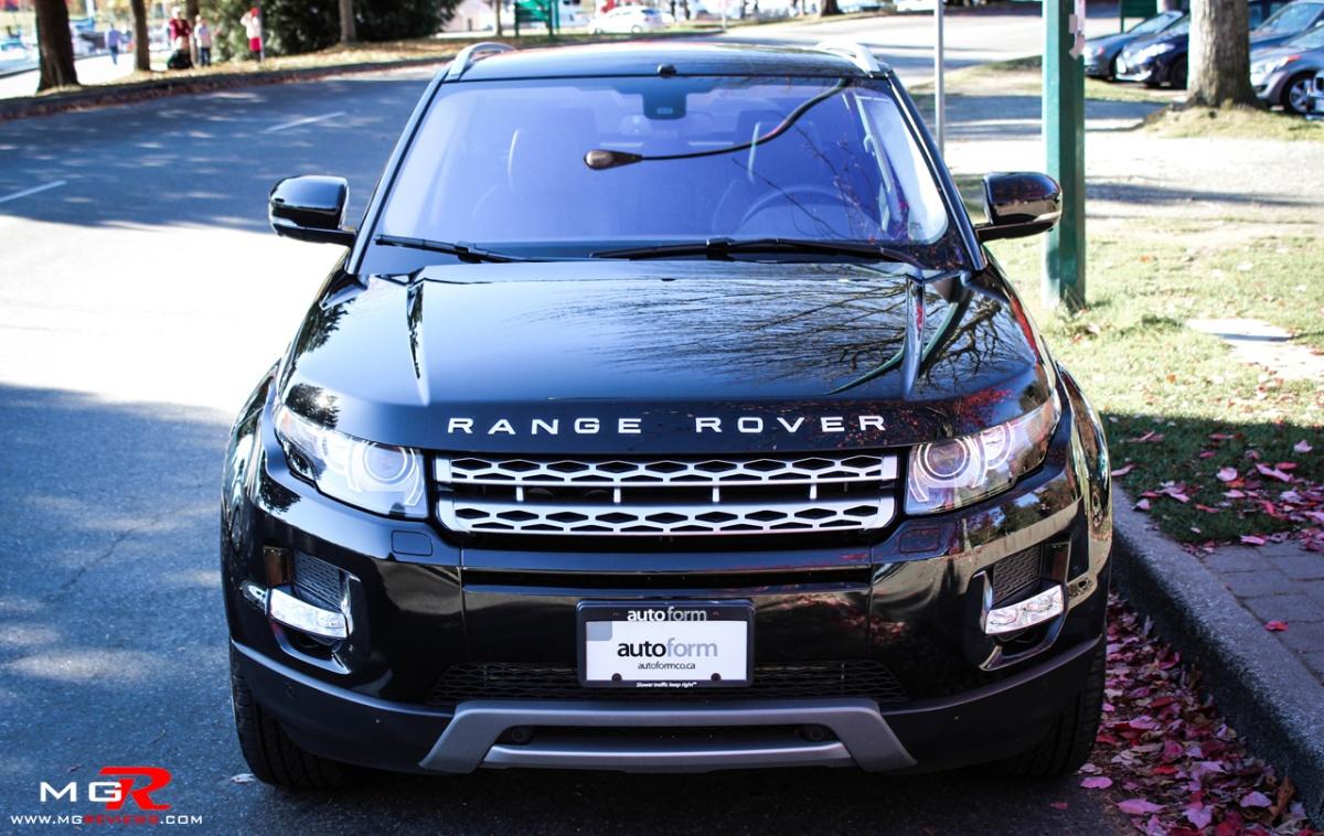 review 2012 land rover range rover evoque m g reviews. Black Bedroom Furniture Sets. Home Design Ideas
