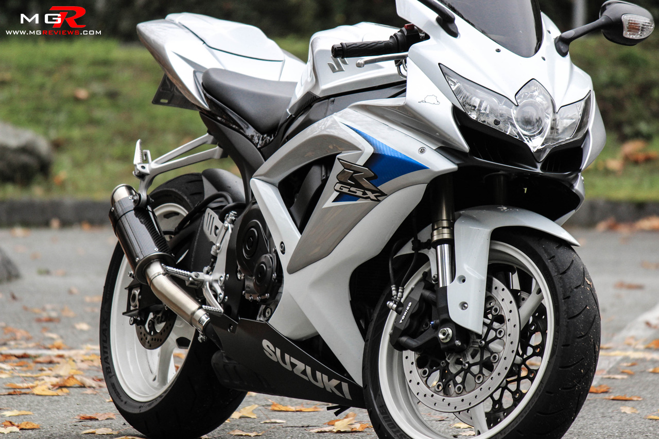 Review: 2008 Suzuki GSXR 600 Limited Edition – M.G.Reviews