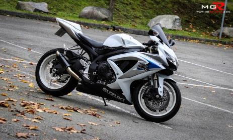 2008 Suzuki GSXR 600 Limited Edition 06