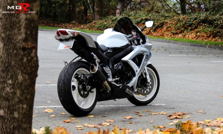 2008 Suzuki GSXR 600 Limited Edition 11