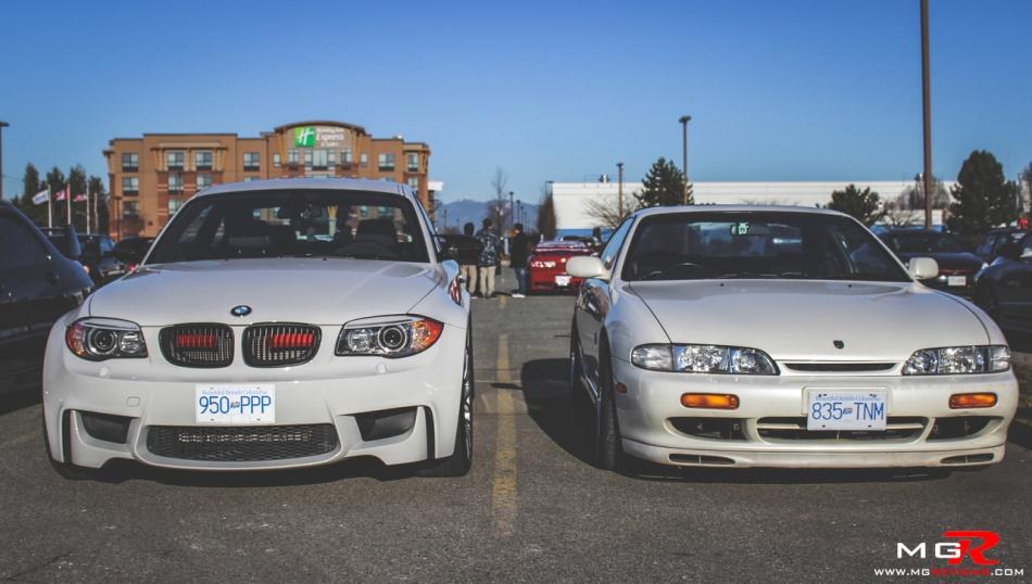 BMW 1M Nissan Silvia