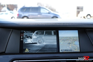 BMW 750i Infrared camera