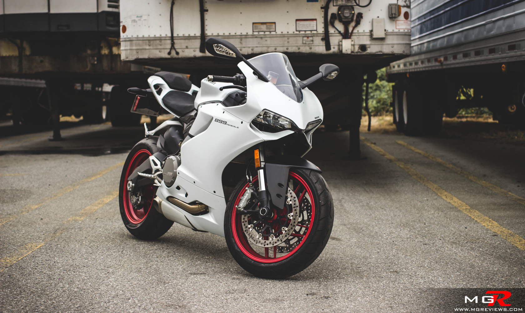 2014 Ducati 899 Panigale White 1 M G Reviews