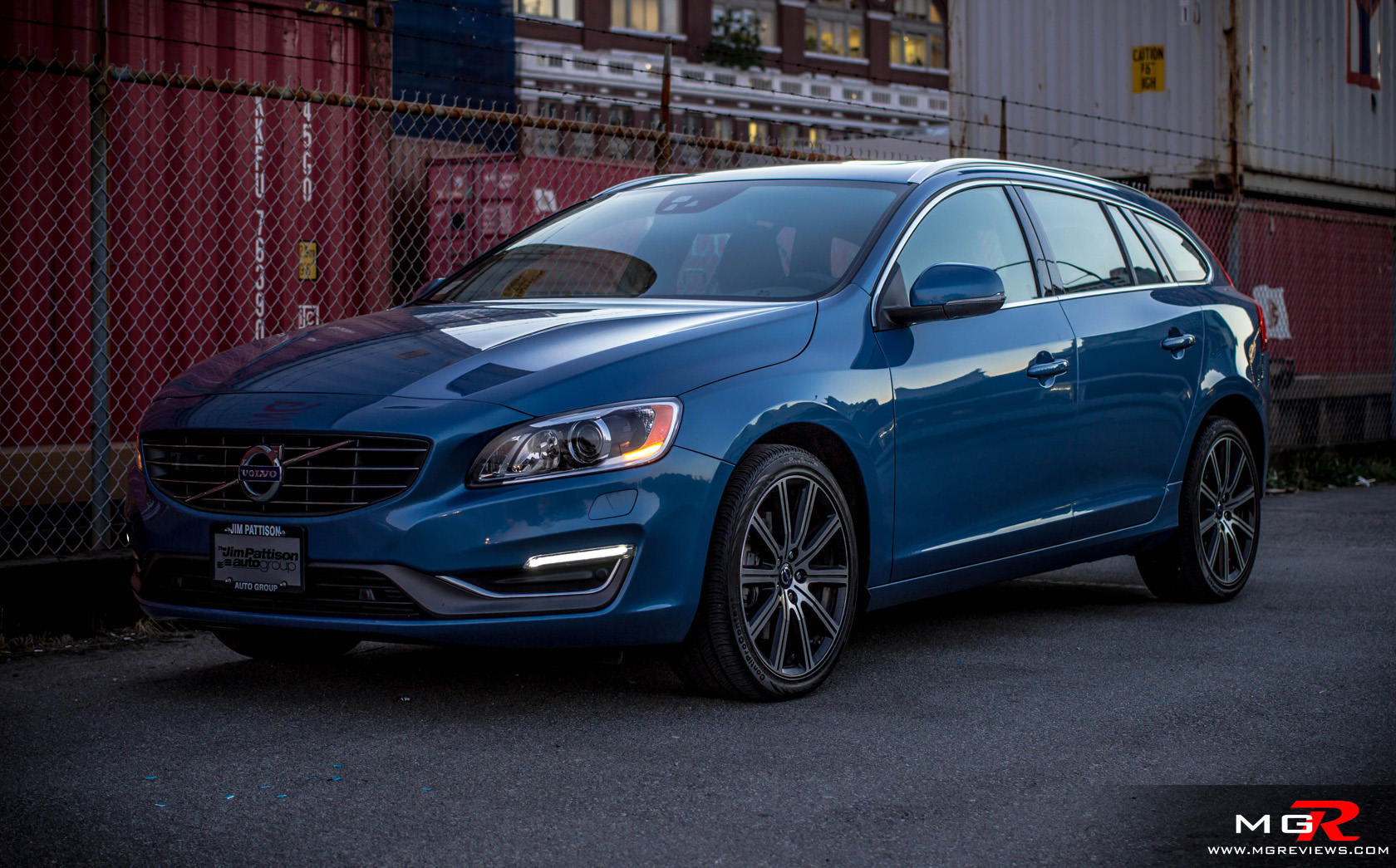 Cool Review 2015 Volvo V60 T6 AWD  MG Reviews
