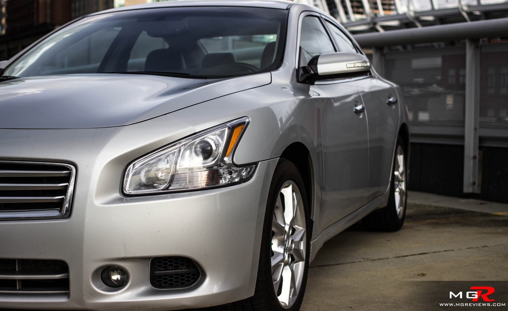 three nissan news test trend maxima sv front quarter turn en first motor