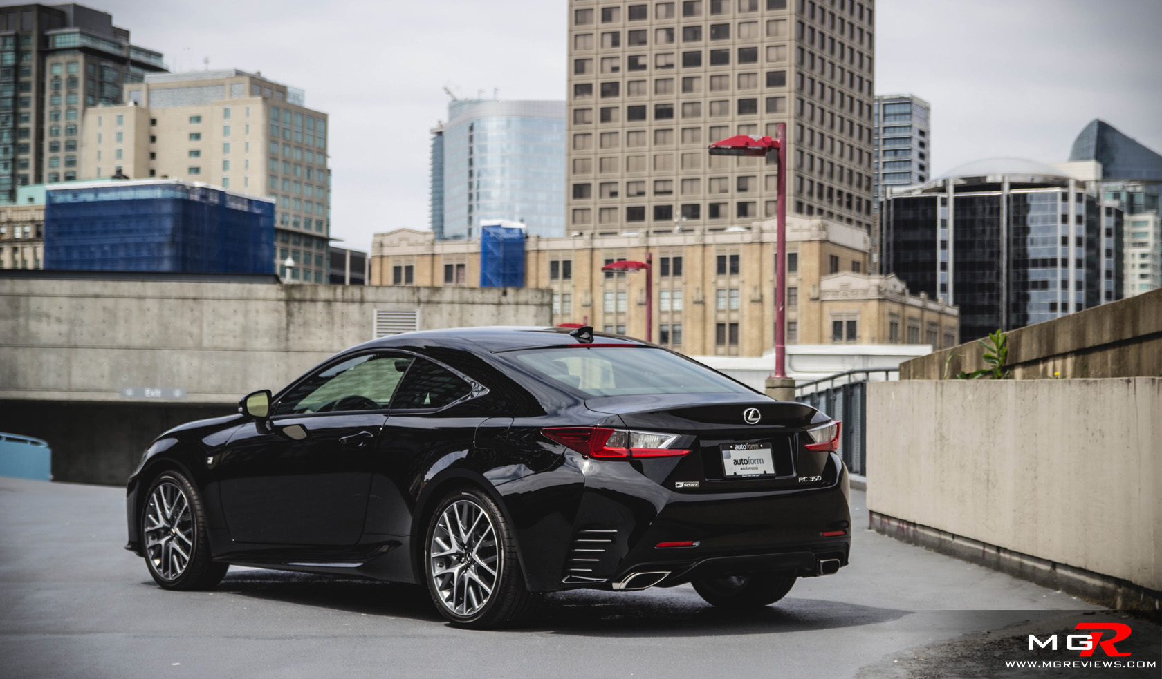 Tanabe | Featured Product: Medalion Touring Exhausts for 2015 Lexus RC 350 F -Sport & Lexus RC F
