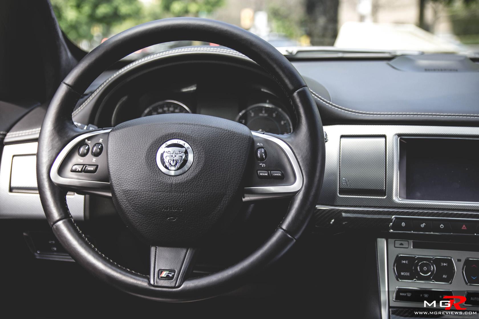 Review Jaguar XFR MGReviews - 2012 jaguar xfr review