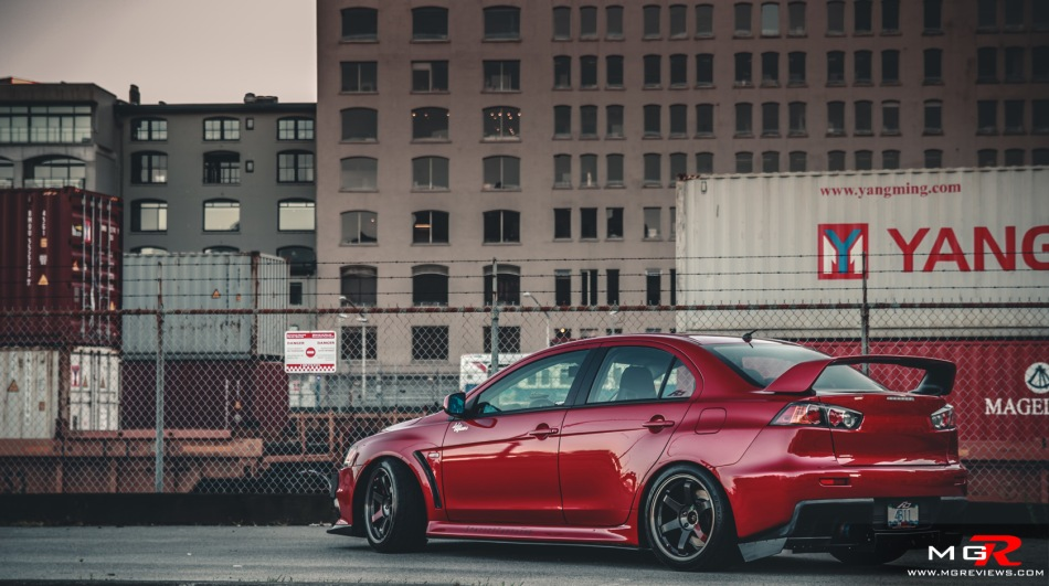 Mitsubishi Lancer Evo X modified 07
