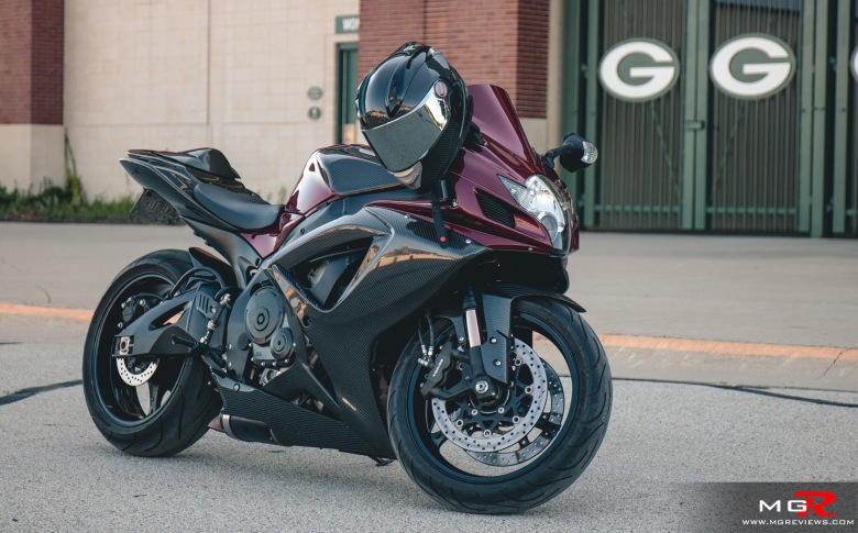 2007 Suzuki GSXR 750 carbon modified